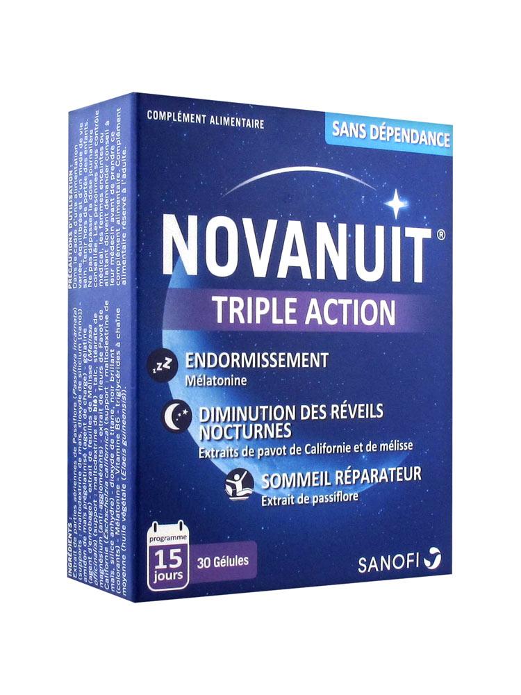 Sanofi Aventis Novanuit Triple Action 30 Gélules - Acheter ...
