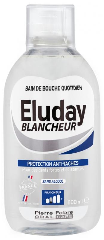 pierre fabre oral care eluday blancheur bain de bouche quotidien 500 ml