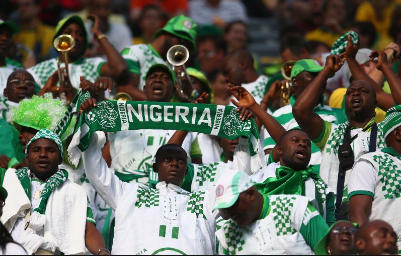 Image result for Super Eagles take on Zambia without supporters