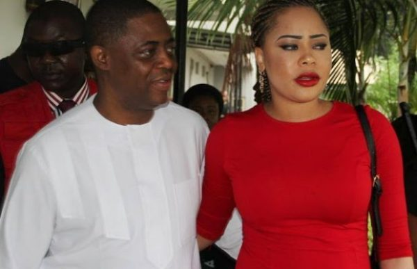 Image result for fani-kayode's wife precious in ekiti state