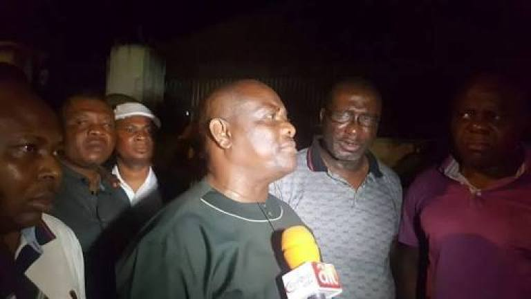 CHANGE IS HERE!!! FULL DETAILS OF WHAT HAPPENED BETWEEN POLICE, DSS AND GOVERNOR WIKE
