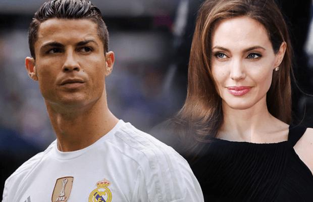 Cristiano Ronaldo vs angelina