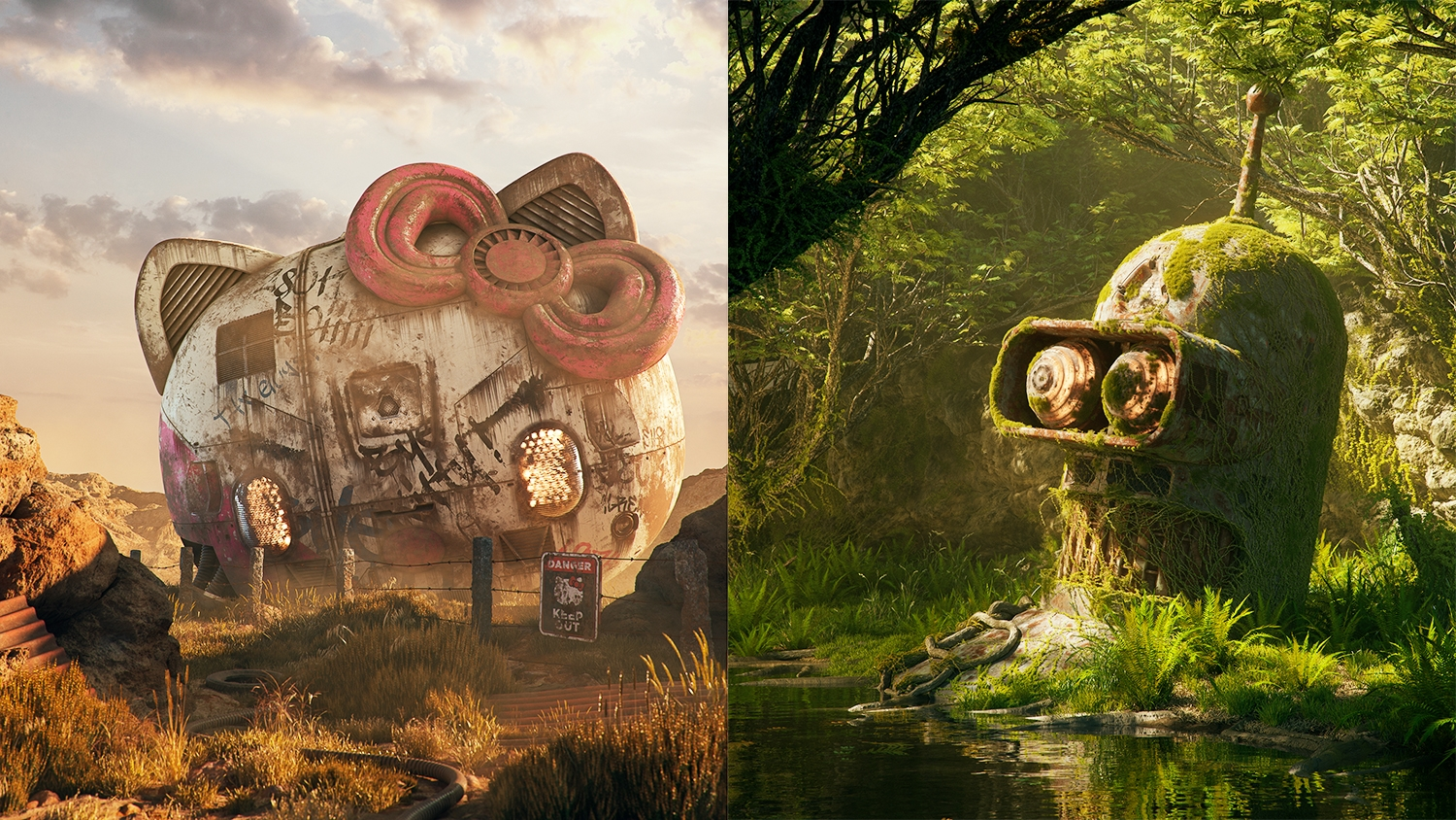 The Tools Behind 3D Artist Filip Hodas Pop Culture