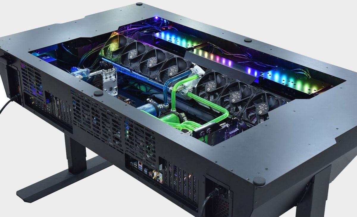 the 7 best gaming desks with led lights