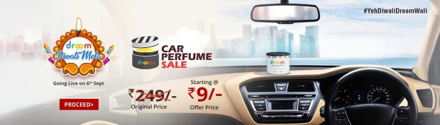 Car Perfume Sale | Register Now Option | Droom