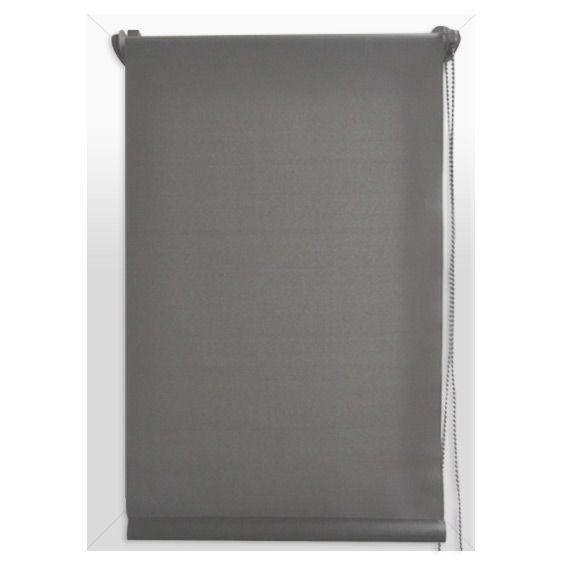 store enrouleur occultant 60 x 90 cm uni gris