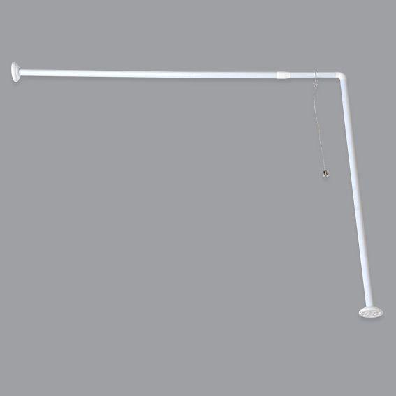 barre d angle pour baignoire extensible