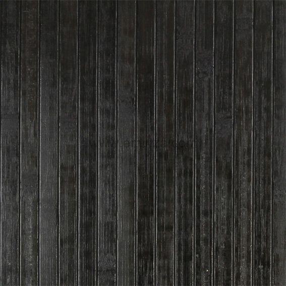tapis de bain lattes bambou noir