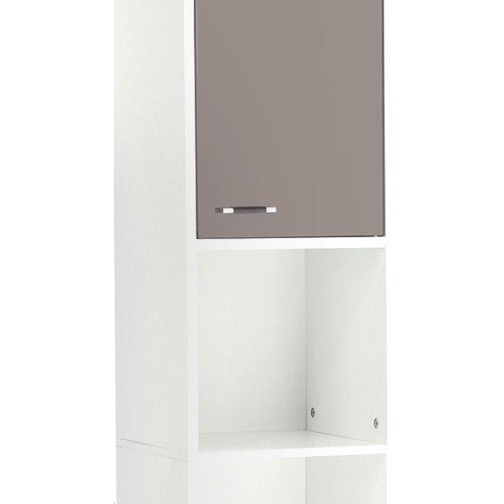meuble colonne salle de bain dinamo taupe