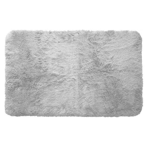 tapis rectangulaire 80 cm marmotte gris clair