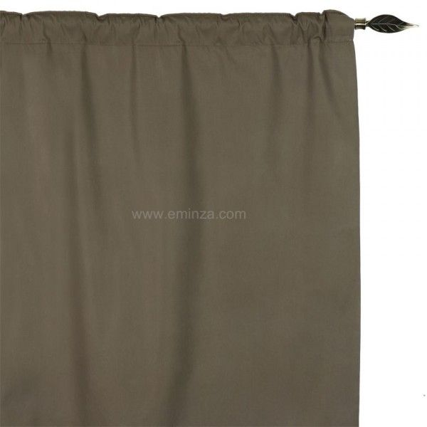rideau de porte thermique 100 x h220 cm igloo taupe clair