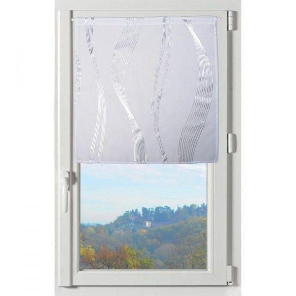 paire de voilages 60 x 90 cm essaouira blanc