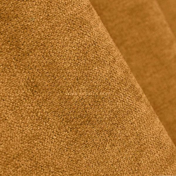 rideau occultant isolant 140 x h260 cm alaska jaune