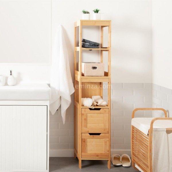 meuble colonne salle de bain mahe