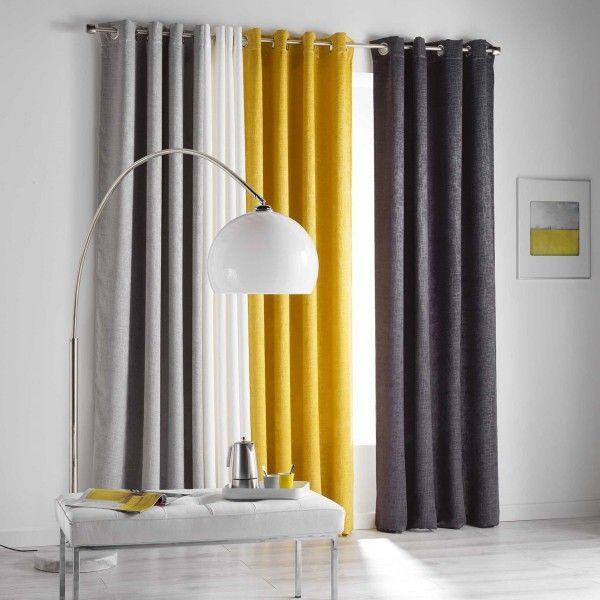 verdunkelungsvorhang 140 x 240 cm opacia gelb
