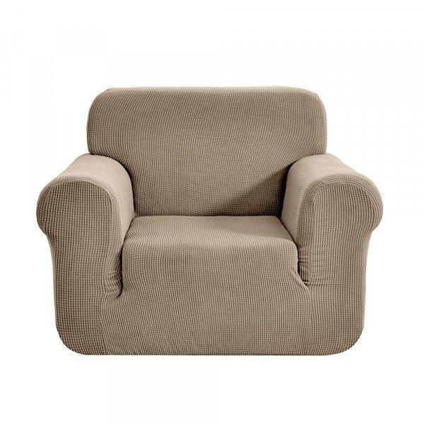 https www eminza com linge de maison housse de fauteuil extensible prisca marron ficelle 70098 html