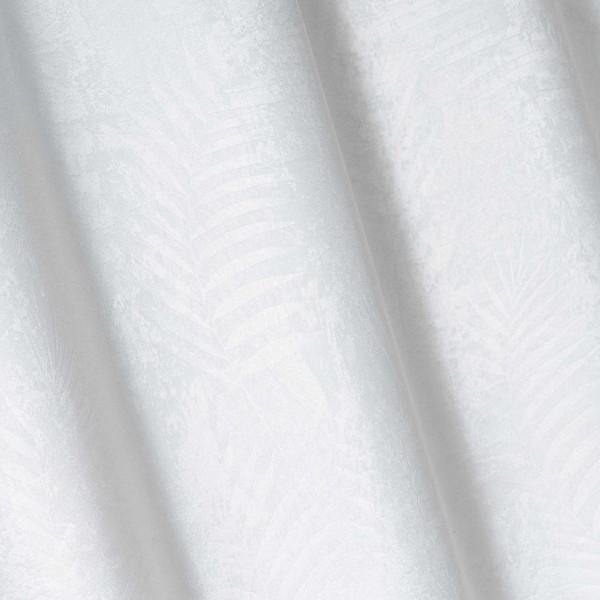 rideau occultant 140 x 240 cm tropicaline blanc