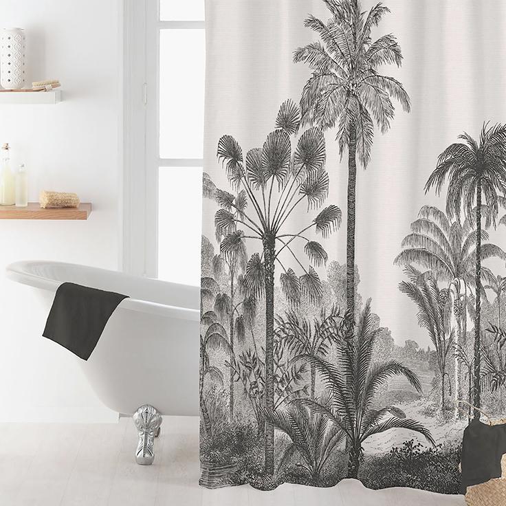 meuble rideau de douche tapis de bain