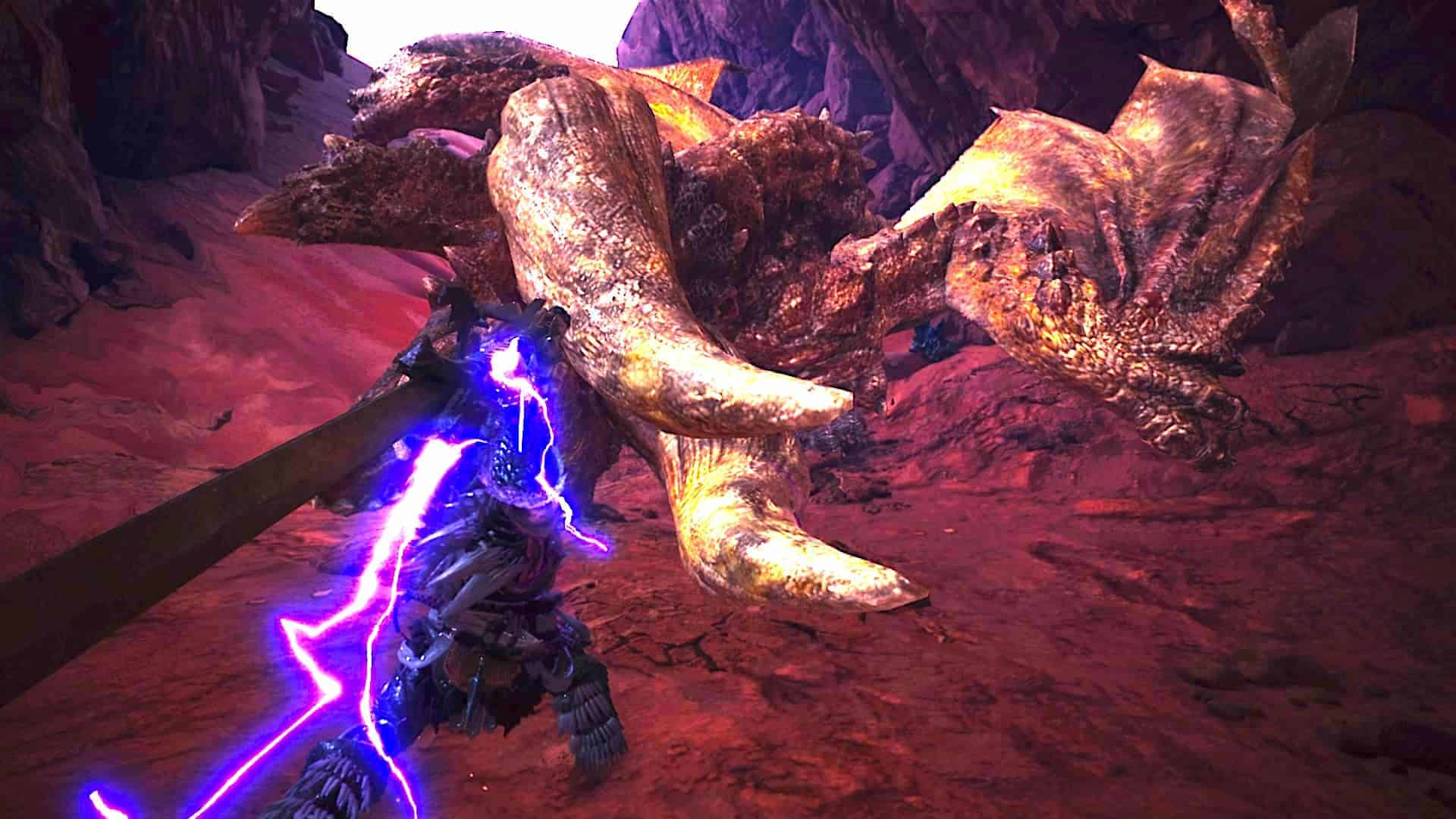 Monster Hunter World Charge Blade - Diablos Fight