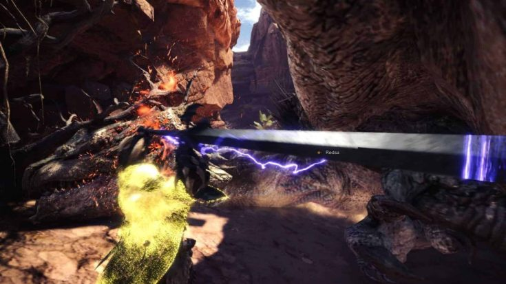 MHW - Top Charge Blades - Dante in action.jpg
