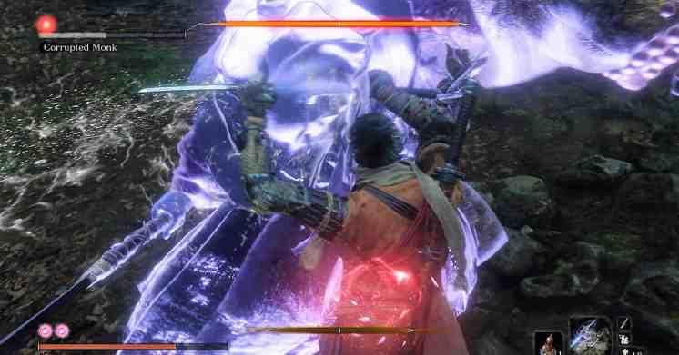 Sekiro - Corrupted Monk Fight