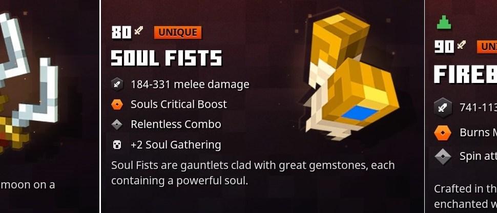 Minecraft Dungeons Best Weapons – Top 15 Melee Weapons in Minecraft Dungeons