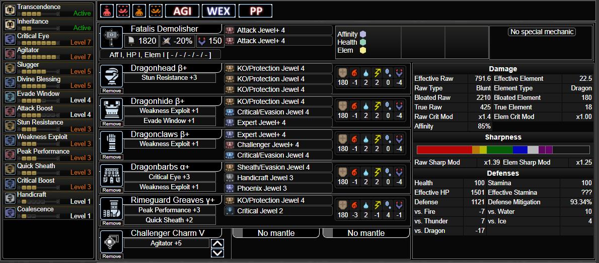Fatalis Hammer Build AT Velkhana
