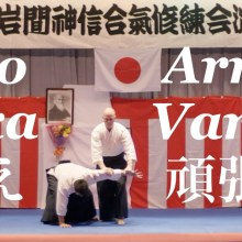 WP-Version of 2019 Iwama Embu Ikkyo Arm Bar Henka Variants