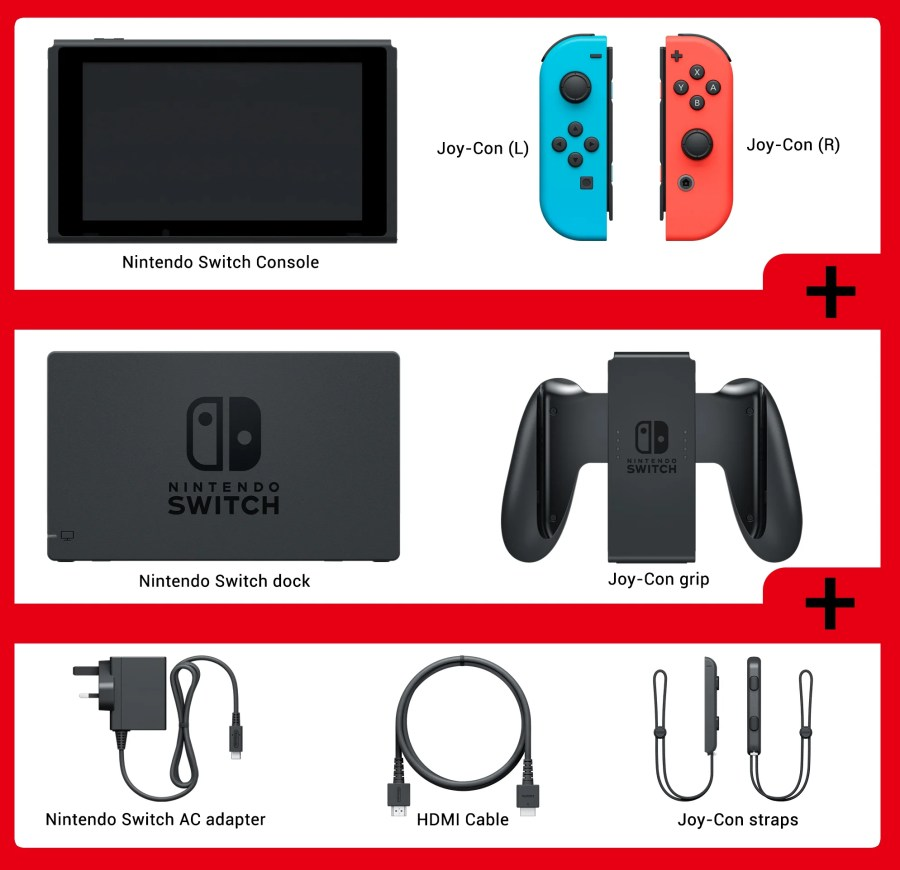 Image result for Nintendo Switch console