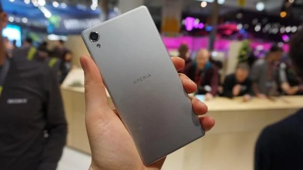 Sony Xperia X rear