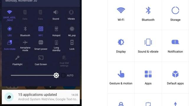 ZTE Axon Elite Android screenshot