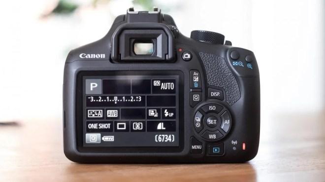 Canon EOS 1300D back
