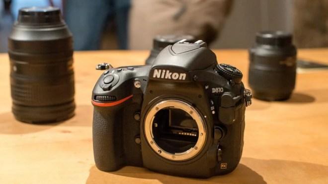 Nikon D810 with no lens