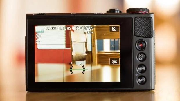 Canon PowerShot G9 X back
