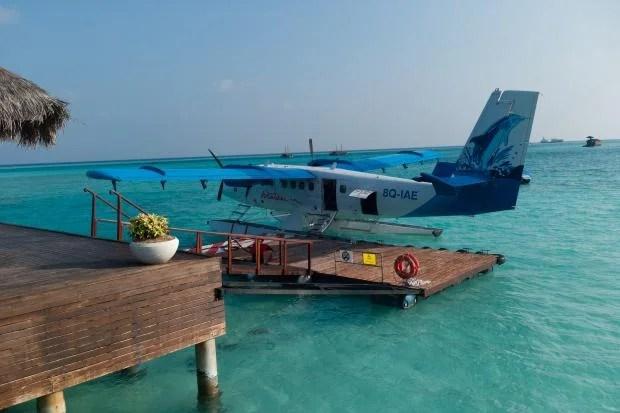 DXO One sample shot sea plane