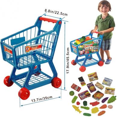 FunkyBuys Blue Kids Children BoysGirls Supermarket