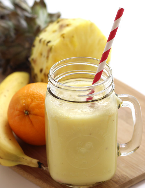 Image result for pineapple smoothie