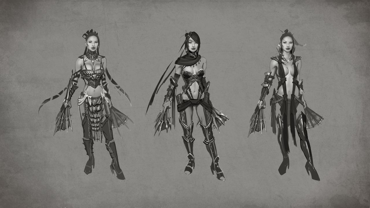 Mortal Kombat X Wont Feature Jade Concept Art And