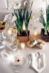 Tricia Foley, Christmas table