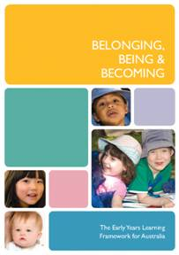 early years learning framework book cover