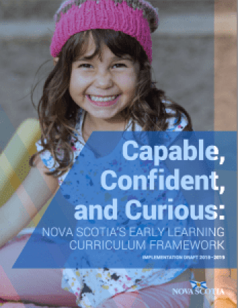nova scotia early learning framework