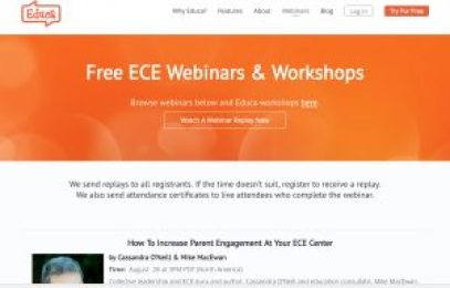 educa free professional development webinars