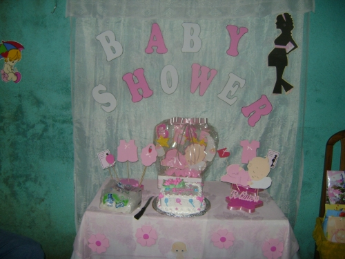 Manualidades Sencillas Para Baby Shower.Baby Shower Nina Decoracion Sencilla Baby Viewer