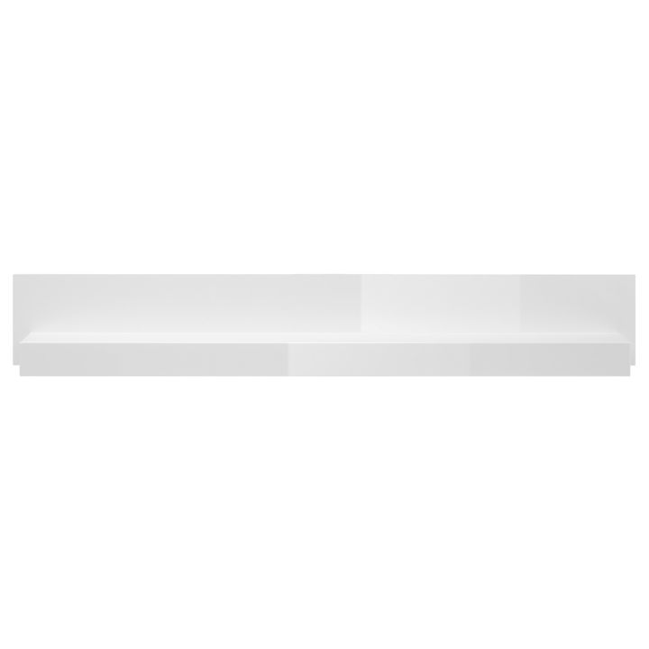 Wandboard CAPE ANN - Hochglanz Weiß
