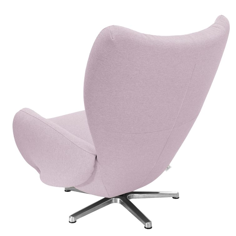 Designersessel TOM Webstoff - Lavendel