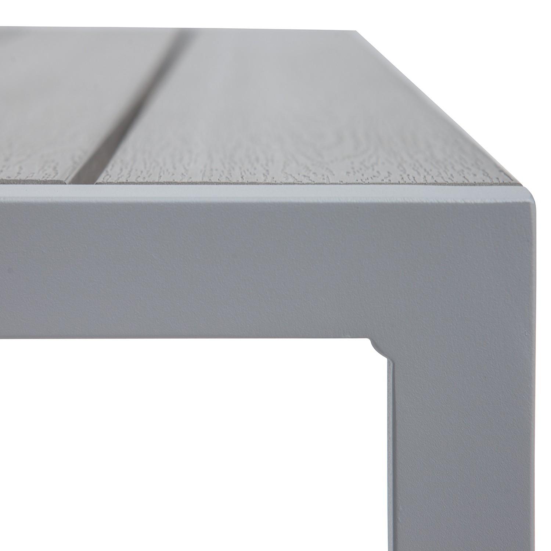 Essgruppe KUDO XIV (3-teilig) - Polywood / Aluminium