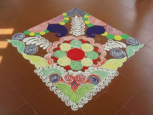 Kolam Rangoli Designs for Diwali