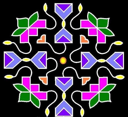 Dot Kolam Designs
