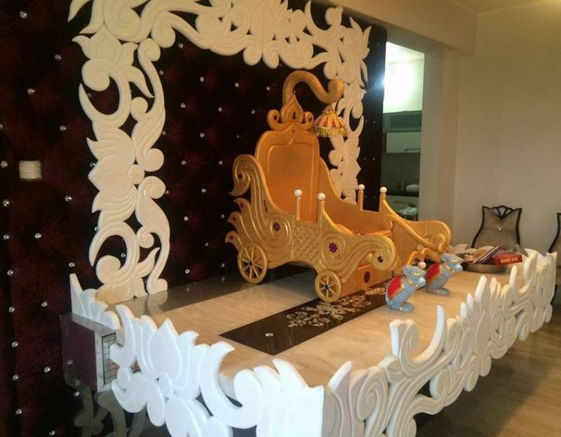 35 Simple Ganesh Chaturthi Decoration Ideas For Home