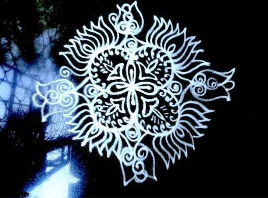Small Kolam Designs